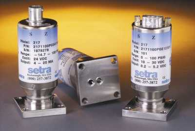Setra Systems, Inc. - 217 (Ultra High Purity Pressure Transducers